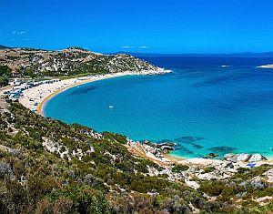 Chalkidiki, Řecko